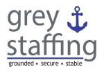 Grey Staffing Logo